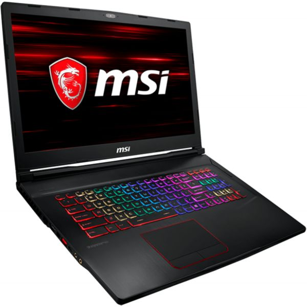 "MSI Raider GE73 RGB 8RE-027PT 17.3"" i7-8750H 16GB SSD 256GB + HDD 1TB"