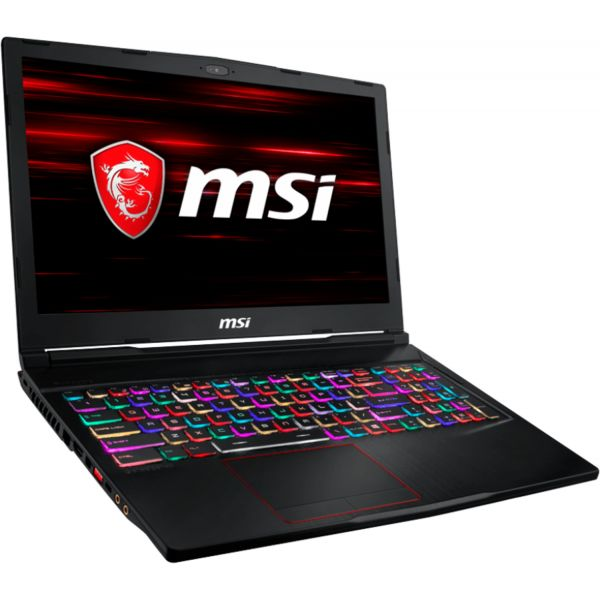 "MSI Raider RGB GE63 8RE-035PT 15.6"" i7-8750H 16GB SSD 256GB + HDD 1TB - 9S7-16P512-035"