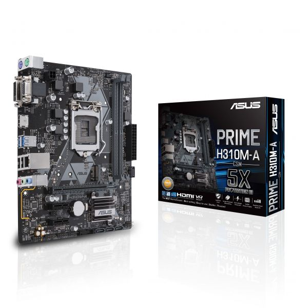 Motherboard Asus Prime H310M-A - 90MB0WI0-M0EAY