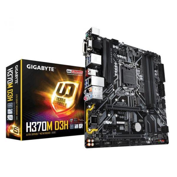 Motherboard Gigabyte H370M D3H - GAH37MD3H-00-G