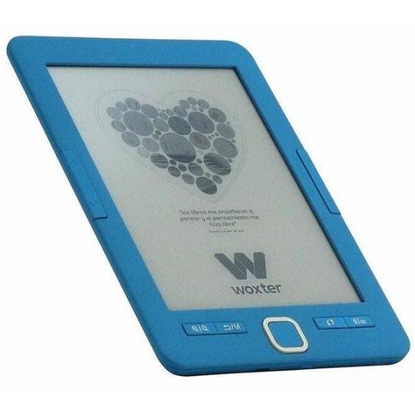"""Woxter Ebook Scriba 195 6"""" 4GB Blue - EB26-043"""