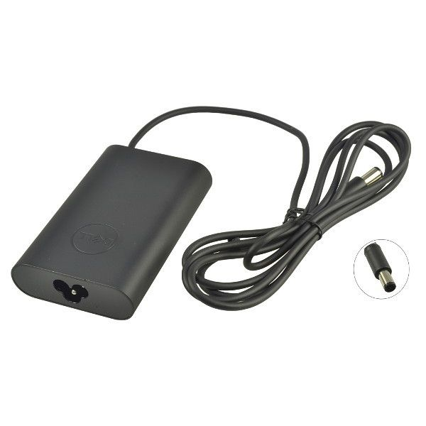 DELL Ac Adapter 19.5V 3.34A 65W (7.4MMX5.0MM) Includes Power Cable - PA-12-9RN2C