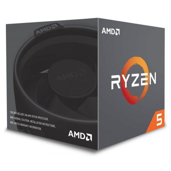 AMD Ryzen 5 2600 Hexa-Core 3.4GHz c/ Turbo 3.9GHz 19MB SktAM4 Box - YD2600BBAFBOX