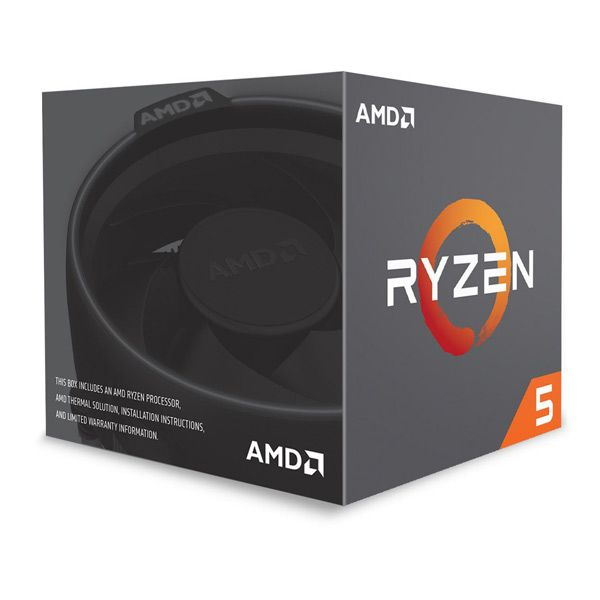 AMD Ryzen 5 2600X Hexa-Core 3.6GHz c/ Turbo 4.25GHz 19MB SktAM4 Box - YD260XBCAFBOX