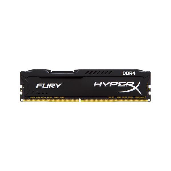 Memória RAM Kingston 8GB HyperX Fury Black DDR4 2933MHz CL17 - HX429C17FB2/8