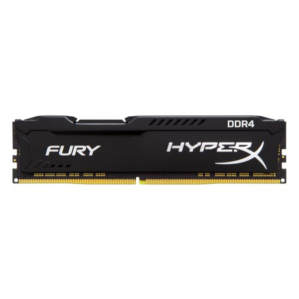 Memória RAM Kingston 16GB HyperX Fury Black DDR4 3400MHz CL19 - HX434C19FB/16