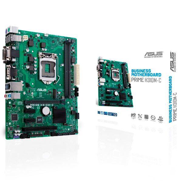 Motherboard Asus Prime H310M-C - 90MB0W60-M0EAYM