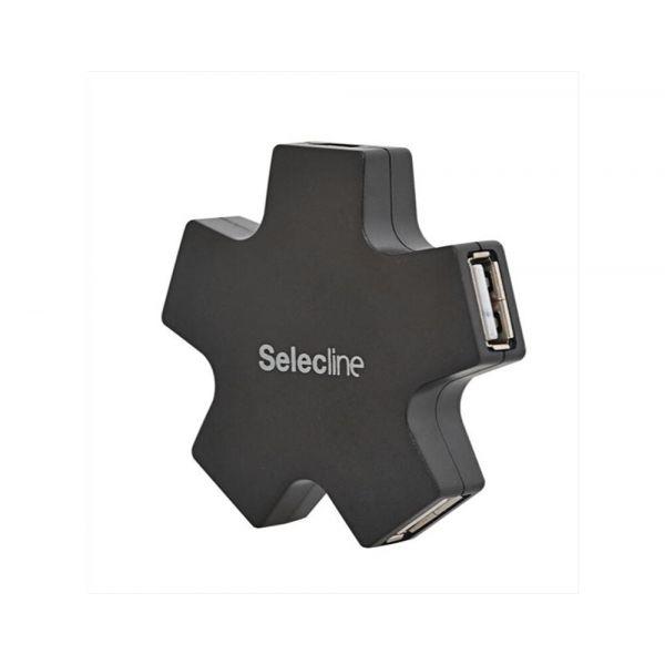 SelecLine Hub Usb 4 Portas - 875842