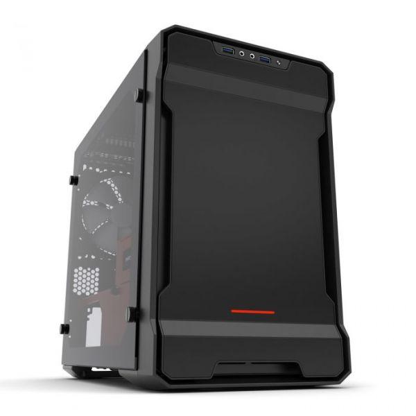 Phanteks Caixa Mini-ITX Enthoo Evolv Preto / Vermelho RGB Vidro Temperado - PH-ES215PTG_SRD
