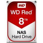 Disco Rígido Western Digital 8TB 3.5 Red 7200rpm SATA III 256MB - WD80EFAX