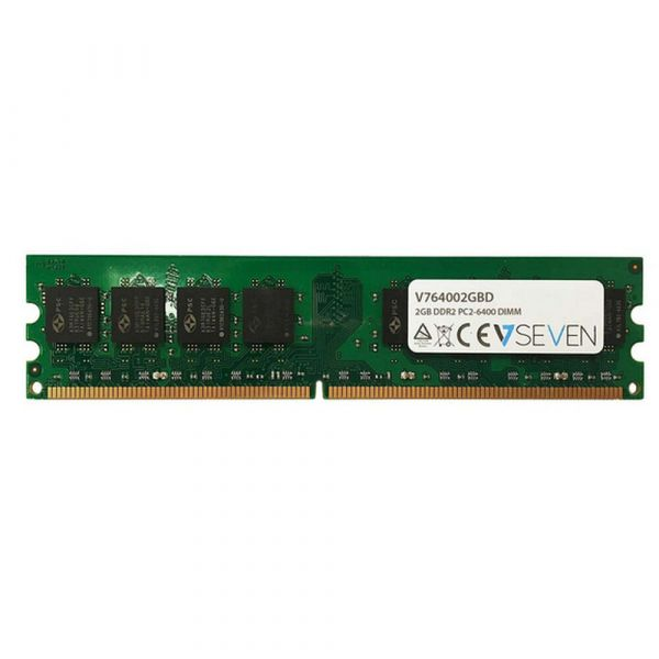 Memória RAM V7 2GB DDR2 800 PC2-6400 CL6 - V764002GBD
