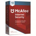 Mcafee 2018 Internet Security 10 Device - MIS00SNRXRAA
