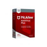 Mcafee 2018 Antivirus Plus 10 Devices - MAV00SNRXRAA