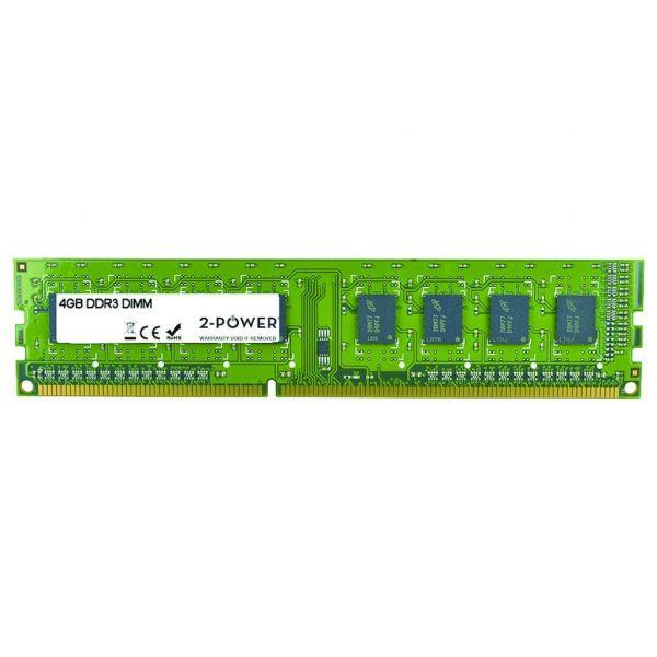 Memória RAM 2-Power Módulo DDR3 4GB Multispeed 1066/1333/1600- MEM0303A