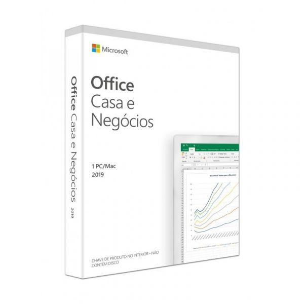 Microsoft Office Casa e Negócios 2019 PT - T5D-03229