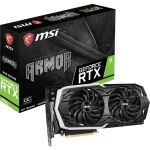 Placa Gráfica MSI GeForce RTX 2070 Armor 8GB GDDR6 (PCIE) - RTX 2070 ARMOR 8G