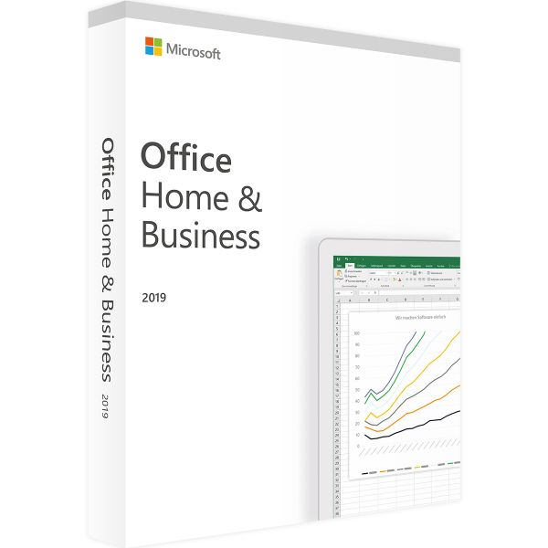 Microsoft Office Home and Business 2019 Win AllLng - T5D-03183