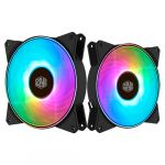 Cooler Master 140mm 1500RPM MasterFan MF140R ARGB 4 Pinos PWM - R4-140R-15PC-R1