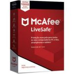 McAfee LiveSafe 2018 1y