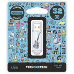 TechOneTech 32GB Crazy Guitar USB 2.0 - TEC4006-32