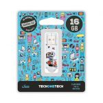 TECHONETECH 32GB Caveira Moto USB 2.0 - TEC4002-32