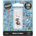 TECHONETECH 16GB Caveira Moto USB 2.0 - TEC4002-16