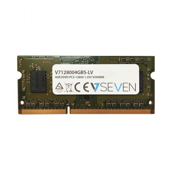 Memória RAM V7 4GB DDR3 1600 PC3-12800 SODIMM CL11 - V7128004GBS-DR-LV