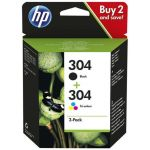 HP 304 Multipack Black + Tri-Colour