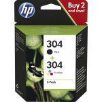 HP 304 Multipack Black + Tri-Colour