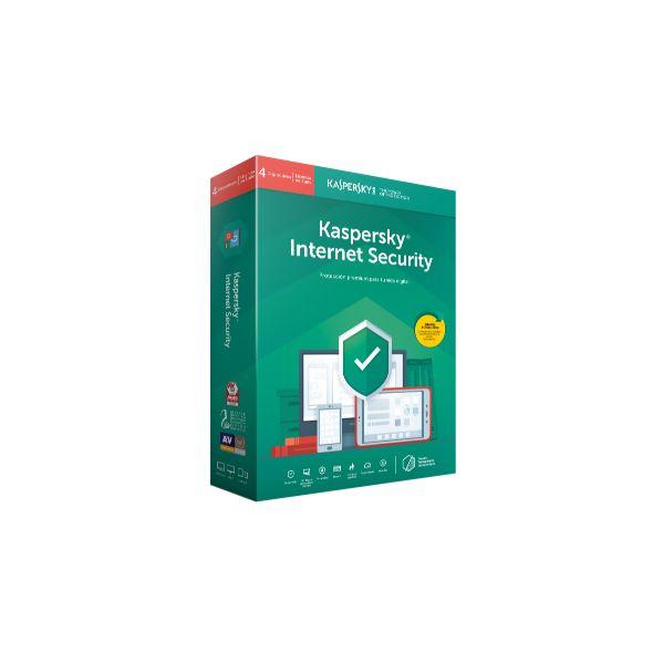 Kaspersky Internet Security 2019 Multi-Dispositivos 4 Users 1 Ano BOX