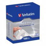 Verbatim CD Sleeves Paper 100 unidades