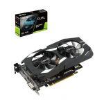 Placa Gráfica Asus GeForce GTX 1660 Ti Dual 6GB OC GDDR6 (PCI-E) - 90YV0CT2-M0NA00
