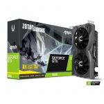 Placa Gráfica Zotac GeForce GTX1660 AMP! Edition 6Gb GDDR6 (PCI-E) - ZT-T16600D-10M
