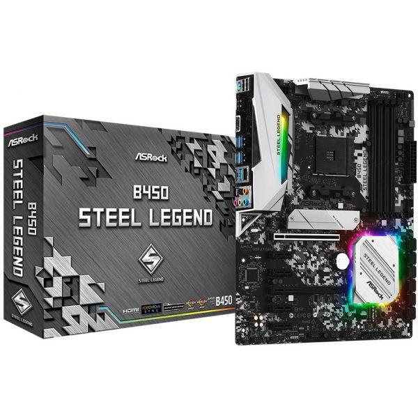 Motherboard AsRock B450 Steel Legend - 90-MXBA00-A0UAYZ