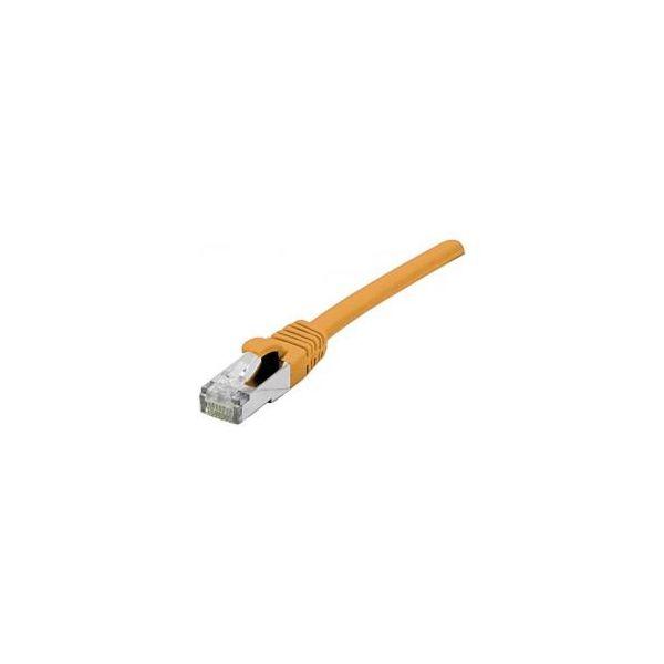 cabo de rede Connect 858530 0.3m Cat6a S/FTP (S-STP) Laranja