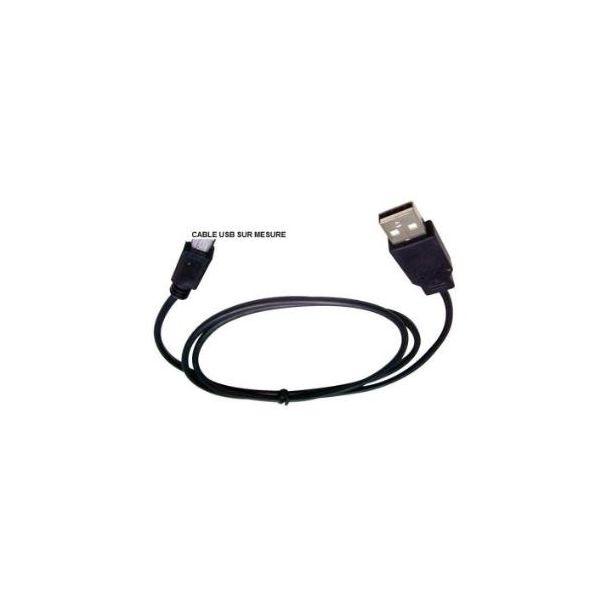 Cabo de dados USB PARA SAMSUNG s5722 Duos Ozzzo