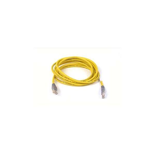 cabo de rede Belkin CAT5e, UTP, 3m 3m Cat5e U/UTP (UTP) Amarelo