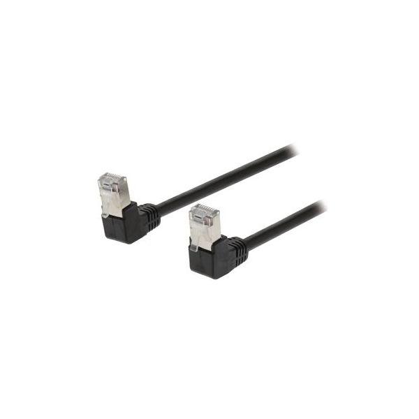 cabo de rede Valueline VLCP85127B30 3m Cat5e SF/UTP (S-FTP) Preto