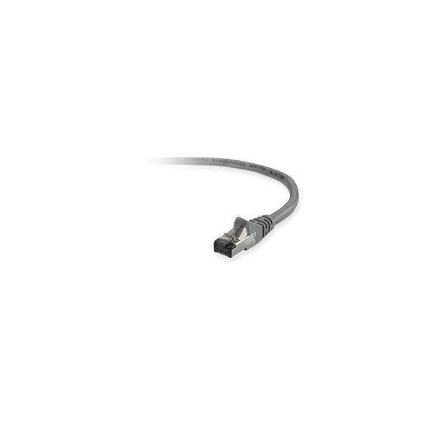 cabo de rede Belkin 1m Cat5e STP 1m Cat5e U/FTP (STP) Cinzento