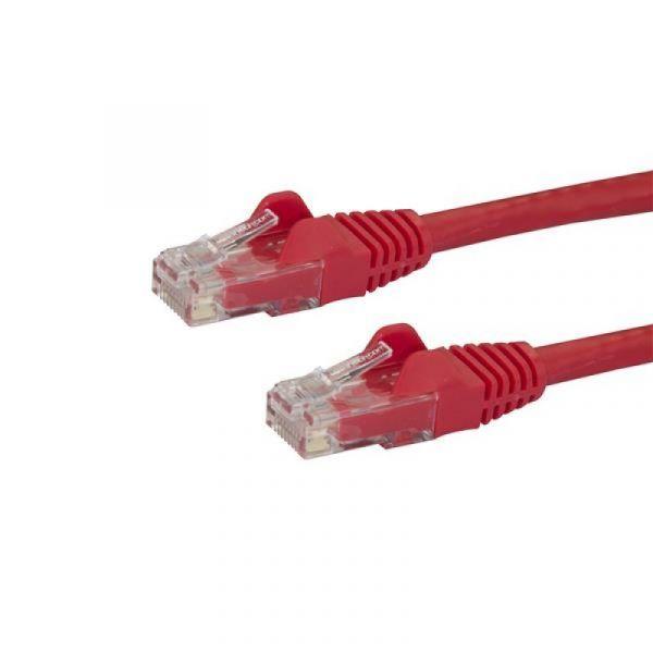 cabo de rede StarTech.com N6PATC10MRD 10m Cat6 U/UTP (UTP) Vermelho