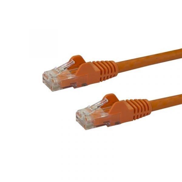 cabo de rede StarTech.com N6PATC7MOR 7m Cat6 U/UTP (UTP) Laranja