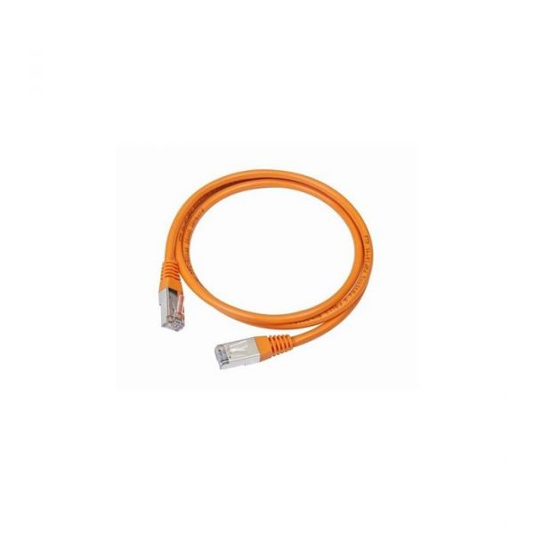 cabo de rede iggual IGG310786 1m Cat5e U/UTP (UTP) Laranja