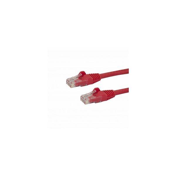 cabo de rede StarTech.com N6PATC50CMRD 0.5m Cat6 U/UTP (UTP) Vermelho