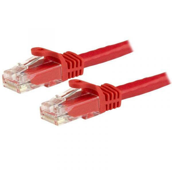 StarTech.com N6PATC1MRD cabo de rede