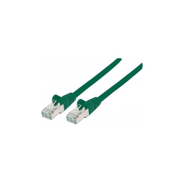 cabo de rede Intellinet 735223 0,5 m Cat6 S/FTP (S-STP) Verde