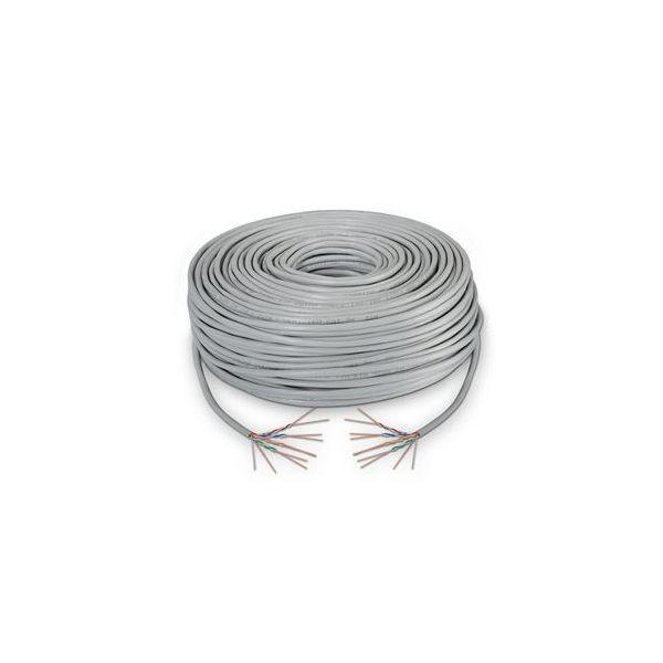 cabo de rede AISENS A134-0225 305 m Cat5e F/UTP (FTP) Cinzento