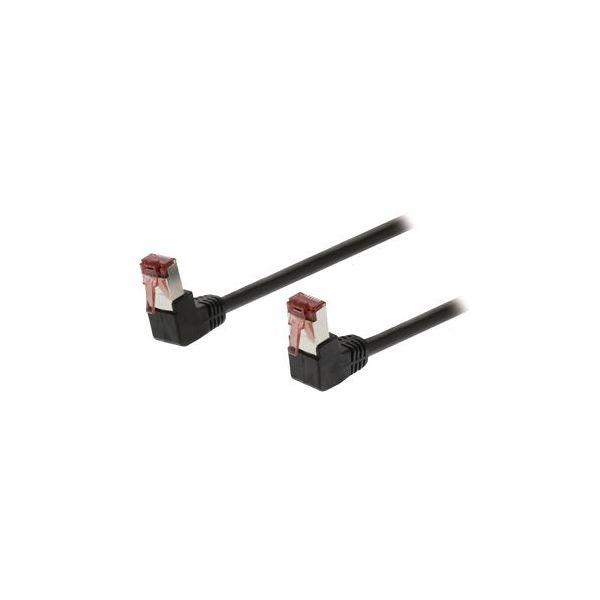 cabo de rede Valueline VLCP85225B150 15m Cat5e S/FTP (S-STP) Preto