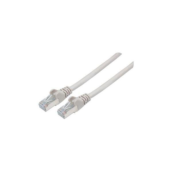cabo de rede Intellinet 1m Cat6A S/FTP S/FTP (S-STP) Cinzento