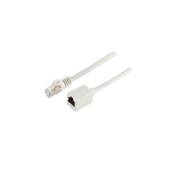 cabo de rede S-Conn BS08-62040 3 m Cat7 S/FTP (S-STP) Cinzento