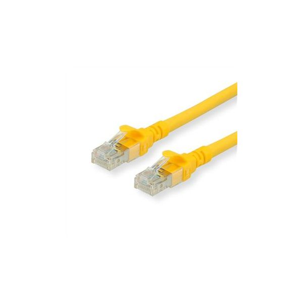 cabo de rede ROLINE 21152829 20m Cat6a S/FTP (S-STP) Amarelo
